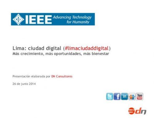 Lima: ciudad digital