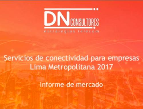 Estudio de mercado: conectividad para empresasLima Metropolitana 2017