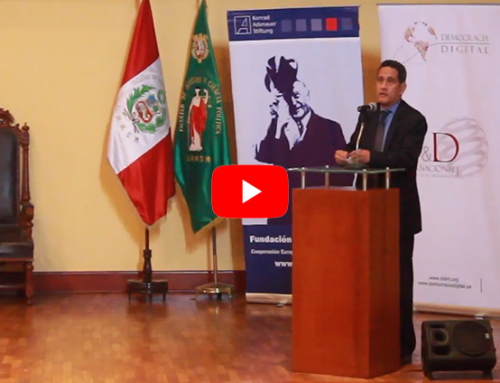 Internet y la tecnología en la políticaPonencia Mesías Guevara, Presidente de Acción Popular