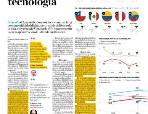 El Perú sigue rezagado en tecnologíaEl Comercio
