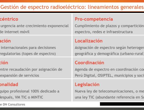 Espectro radioeléctrico y competitividad 4.0Reordenamiento de la banda 2.5 GHz será referencia para futuras bandas 5G