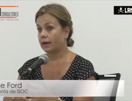 """ISOC Perú: """"el desarrollo del internet nos involucra a todos""""Entrevista a Elaine Ford, Presidenta de ISOC-Perú"""