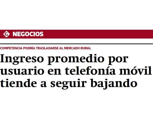 ARPU móvil Perú aún a la bajaGestión