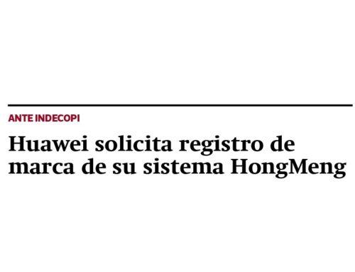 Huawei solicita registro de marca de su sistema HongMengGestión