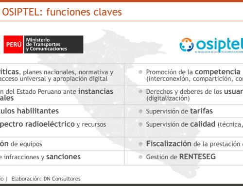 La nueva ley telecom debe ser ágilSi Perú aspira a ser líder digital en Sudamérica en los próximos años