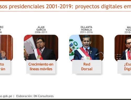 Discurso presidencial 2019 y avances digitalesTransformación digital del Estado Peruano en estado aún embrionario